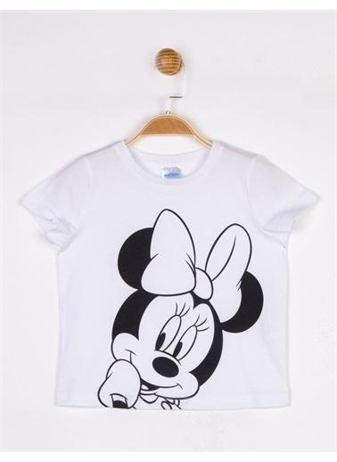 Minnie Mouse Tişört Beyaz